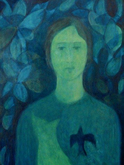 blue lady sarah parker