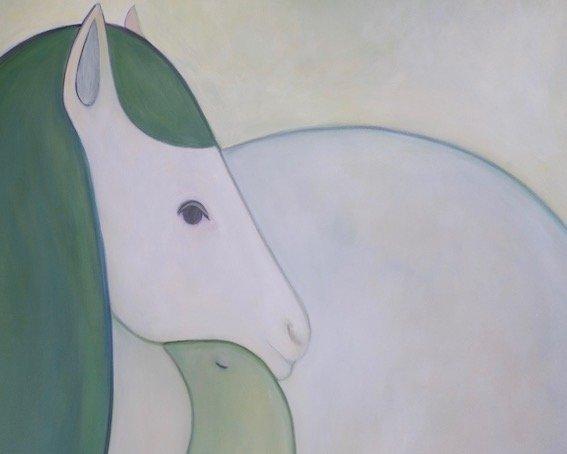 horse and bird sarah parker